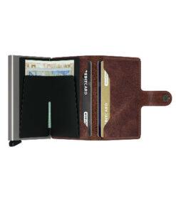 Secrid Mini Wallet Portemonnee Vintage Brown