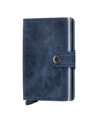 Secrid Mini Wallet Portemonnee Vintage Blue