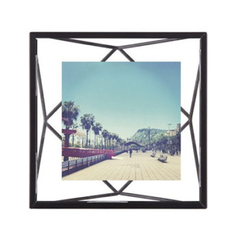 Umbra Fotolijst – prisma 10x10cm zwart