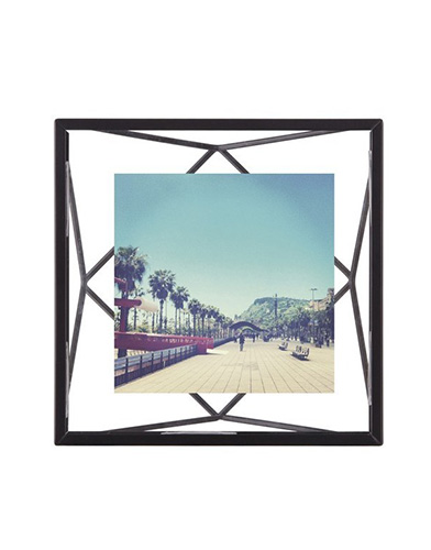 Umbra Fotolijst - prisma 10x10cm zwart