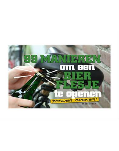 99 manieren om je bierflesje te openen