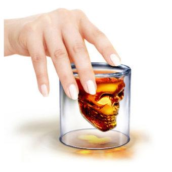 Invotis-Skull glass