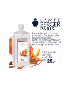 Lampe Berger- Orange de Canelle 1 liter
