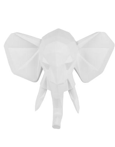 Aniwall-Origami-Olifant-wit-01