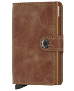 Secrid Mini Wallet Portemonnee Vintage Cognac Rust