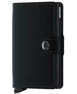 Secrid Miniwallet Portemonnee Matte Black