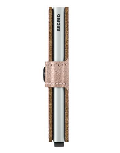 Secrid Miniwallet Portemonnee Metallic Rose
