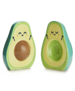 Balvi keramisch peper en zoutstel avocado mr wonderful kawaii