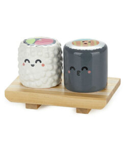 Balvi keramisch peper en zoutstel sushi mr wonderful kawaii