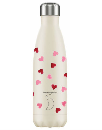 Chillys Bottles Emma Bridgewater Pink Hearts Edition 500ml