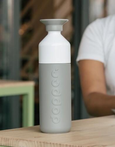 Dopper insulated glacier grey 500ml productfoto (1)