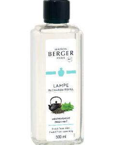 Fresh Mint maison lampe berger navulling 500ml huisparfum brander