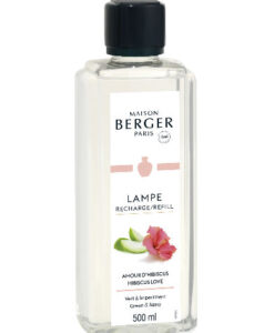 Hibiscus Love maison lampe berger 500ml navulling huisparfum