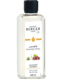 Red Berries maison lampe berger navulling huisparfum brander 500ml