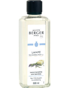 Soap Memories maison lampe berger navulling 500ml brander huisparfum