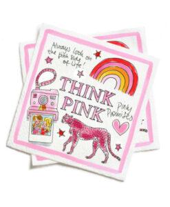 blond amsterdam think pink pink days servetten 20 stuks