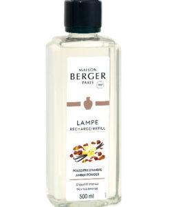 Amber Powder maison lampe berger huisparfum navulling brander 500ml