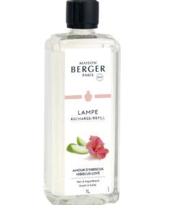 Hibiscus Love maison lampe berger navulling huisparfum brander 1L