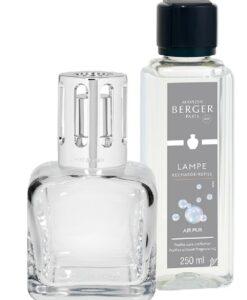 Lampe Berger Giftset Glaçon Transparente ice cube ijsklontje air pur
