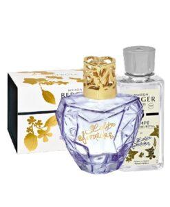 Lampe Berger Giftset Lolita Lempicka Parme paars navulling appel brander model