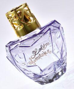 Lampe Berger Giftset Lolita Lempicka Parme paars navulling appel brander model sfeerbeeld