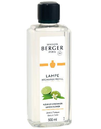Lemon Flower maison lampe berger navulling huisparfum brander 500ml
