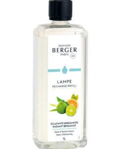 Radiant Bergamot maison lampe berger huisparfum brander navulling 1l