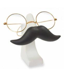 invotis mustache brilhouder glasses holder snor