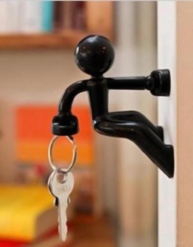 key pete peleg design magnetic man magnetisch mannetje sleutelhouder