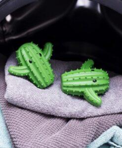 kikkerland cactus dryer buddies wasdrogerballen gebruik