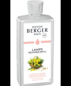 luminous mimosa maison lampe berger navulling brander huisparfum 500ml