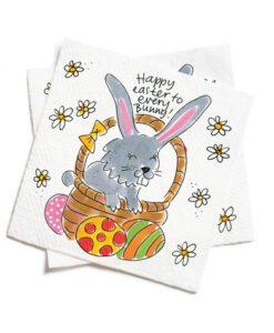 Blond Amsterdam - Happy Easter To Every Bunny Servetten (set 20 stuks) paascollectie konijn