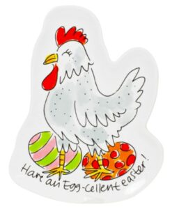 Blond Amsterdam Paascollectie - 3D Bord Kip happy easter chicken