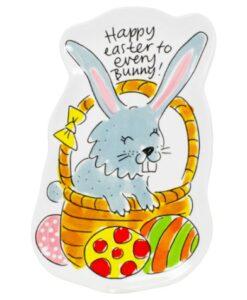 Blond Amsterdam Paascollectie 3D Bord Konijn happy easter bunny