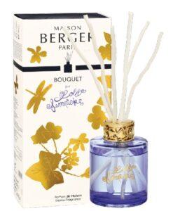 Lampe Berger Geurstokjes Parfumverspreider Lolita Lempicka Paars huisparfum geurstokjes verpakking