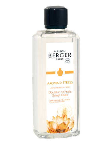 Lampe Berger Navulling Aroma D-Stress Sweet Fruits 500ml huisparfum brander