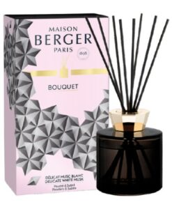 Maison Lampe Berger Geurstokjes Parfumverspreider Black Crystal moederdag collectie Rozenn Mainguené giftset white delicate musk huisparfum cadeauverpakking