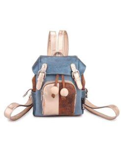 Noi-Noi Lentecollectie Kiara Rugzak pink rood roze backpack fair trade hidihi blue blauw