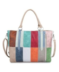 Noi-Noi Lentecollectie Rainbow Schoudertas Shopper multicolor