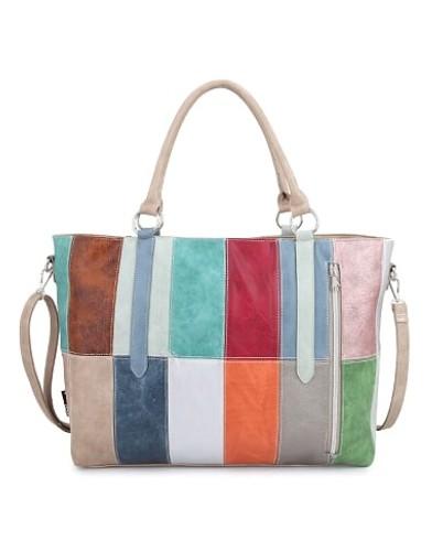 Noi-Noi Lentecollectie Rainbow Schoudertas Shopper multicolor