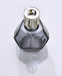 maison Lampe Berger Geometry Giftset kubisme brander navulling huisparfum cotton caress grijs paars brander
