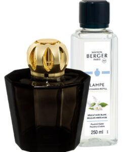 maison lampe berger black crystal Rozenn Mainguené delicate white musk giftset navulling brander huisparfum moederdag set