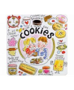 Blond Amsterdam Even Bijkletsen Koekblik - Cookies deksel