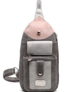 Hi-Di-Hi Lentecollectie - Catch Schoudertas Heuptas bum bag crossbody bag donkergrijs dark grey voorkant