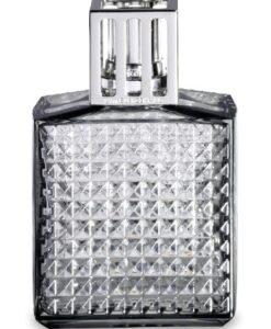 Lampe Berger - Diamant Grijs grise geurbranders model huisparfum navulling