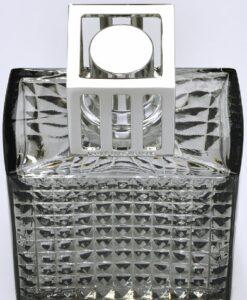 Lampe Berger - Diamant Grijs grise geurbranders model huisparfum navulling detail