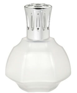 Lampe Berger - Haussmann Satijn Wit Givrée Frosted geurbrander huisparfum navulling