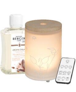 Lampe Berger Mist Diffuser - Aroma Dream Delicate Amber maison huisparfum navulling set