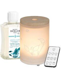 Lampe Berger Mist Diffuser - Aroma Happy Aquatic Freshness huisparfum navulling afstandsbediening set
