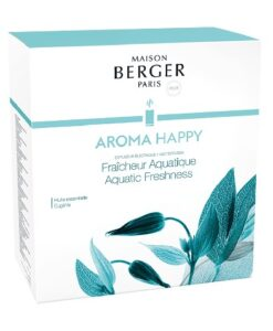 Lampe Berger Mist Diffuser - Aroma Happy Aquatic Freshness huisparfum navulling verpakking